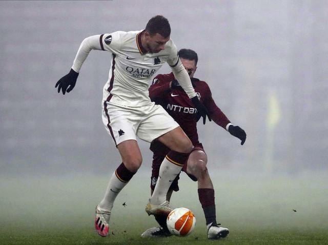 Edin Džeko u dresu FK Roma