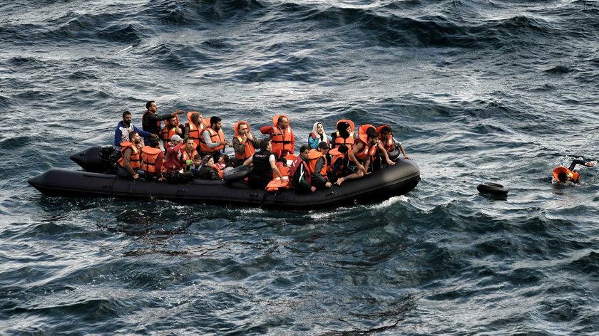 Grecki piekarz n ie obrócił się od uchodźców