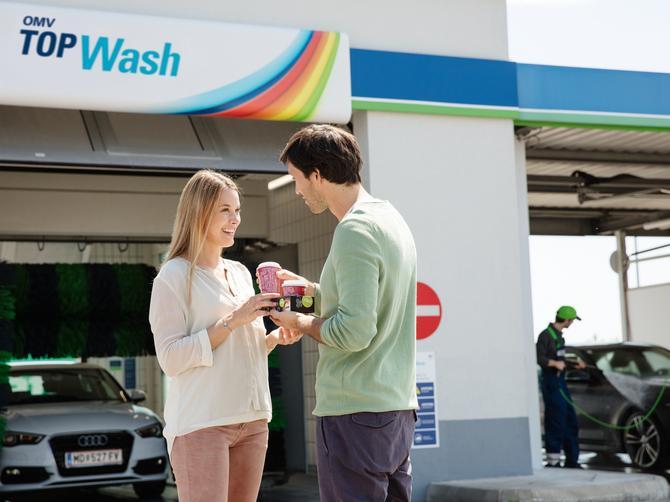 Investicija u izvanrednu uslugu pranja vozila na OMV benzinskim stanicama
