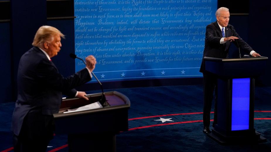 Debata w Nashville była ostatnią przed wyborami prezydenckimi, odbędą się 3 listopada br.