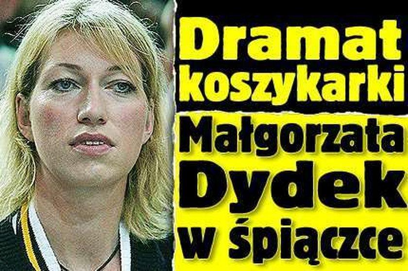 Małgorzata Dydek w śpiączce. Nie wytrzymało jej serce