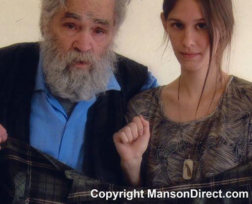 Charles Manson z przyszłą żoną, Elaine Burton / zdjęcie z oficjalnego profilu Charlesa Mansona