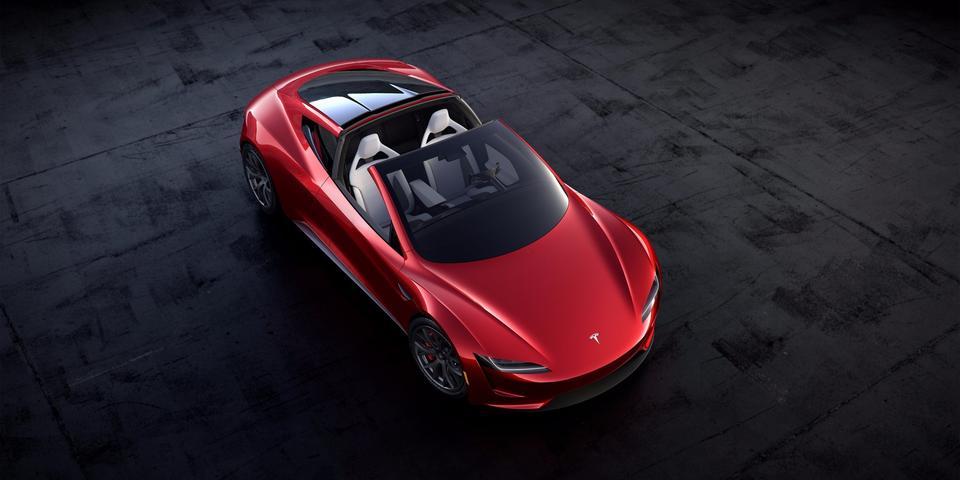 Roadster jest samochodem czteromiejscowym