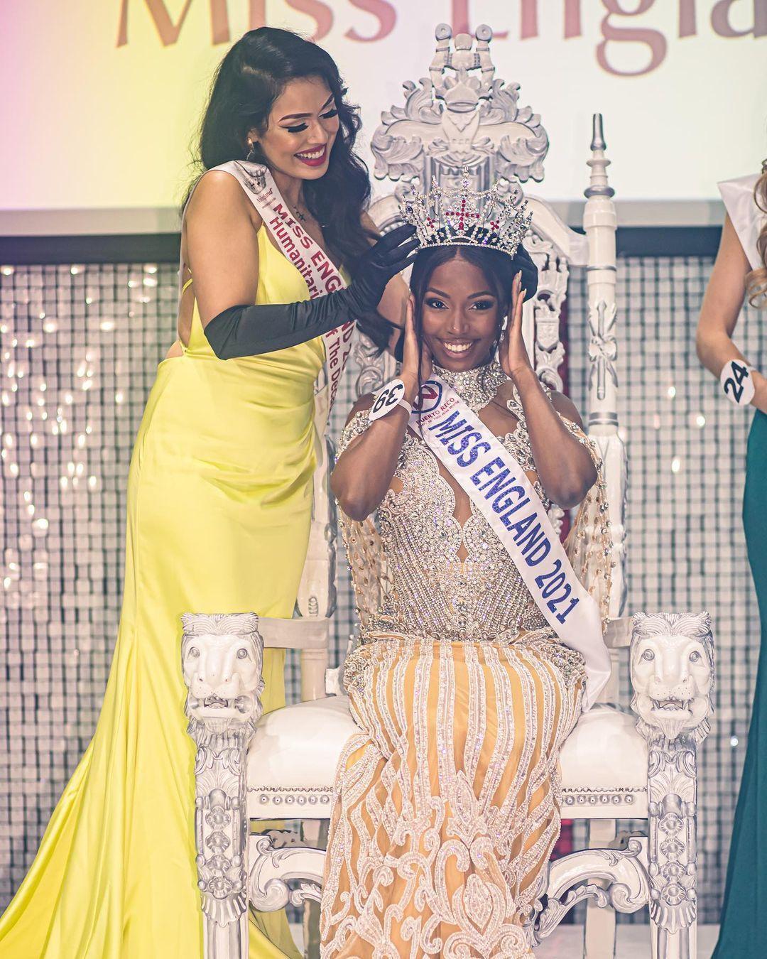 Kenyan-born Rehema Muthamia crowned Miss England 2021 (Photos) | Pulselive Kenya