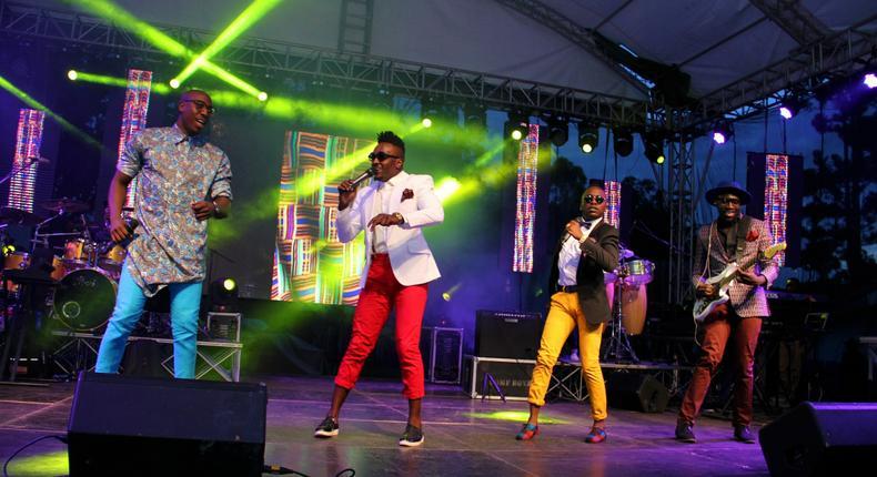 Sauti Sol on stage