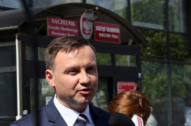 Nie tylko zbieżność nazwisk ale i podobne przekonania zdaniem Brudzińskiego wpłynął na poparcie kandydata PiS