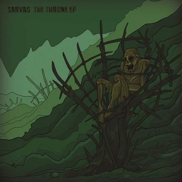 """SARVAS – """"The Throne"""" EP"""