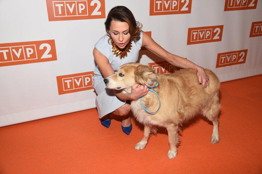 Anna Popek z psem
