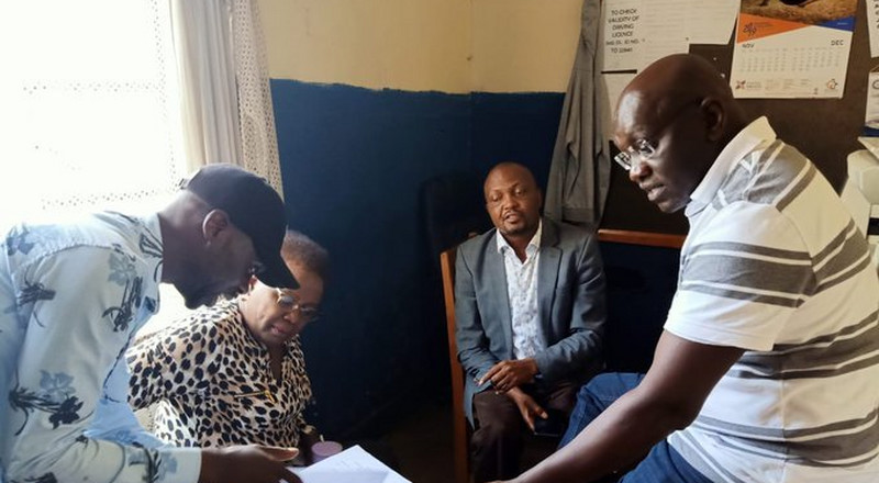 Photos of Moses Kuria in police custody surface as Murkomen reveals powerful individuals frustrating the MP