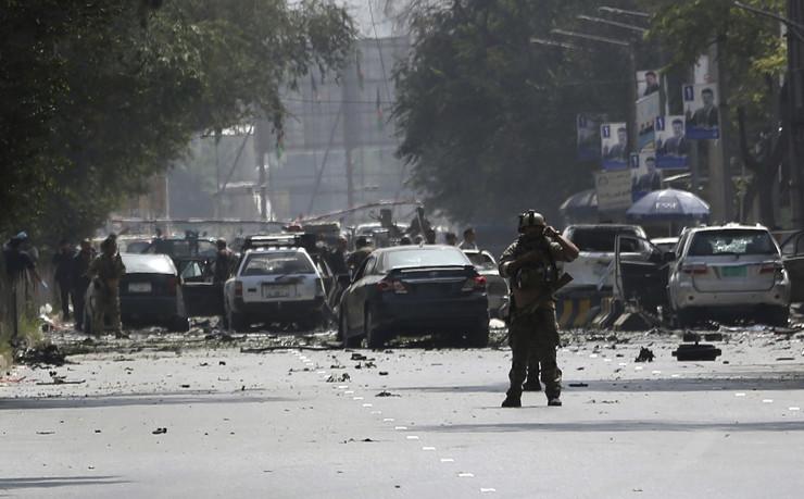 Avganistan, napad