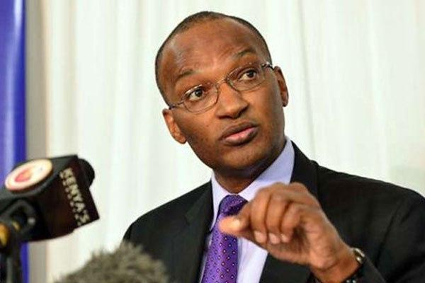 Central Bank of Kenya Governor Dr Patrick Njoroge