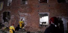 Zawalił się strop w starym młynie