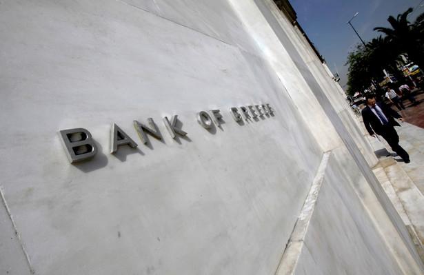 Siedziba Centralnego Banku Grecji w Atenach.