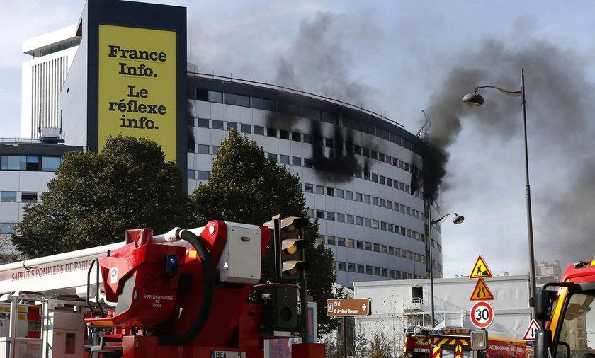 Pożar siedziby Radio France