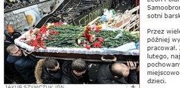 Polak zginął na Majdanie. Pochowali go jak bohatera