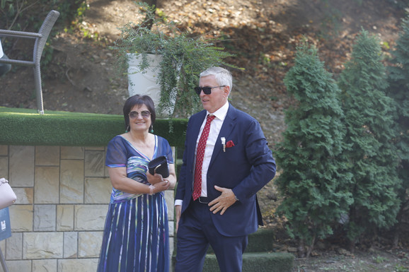 Svadba ćerke Vladimira Petrovića Pižona