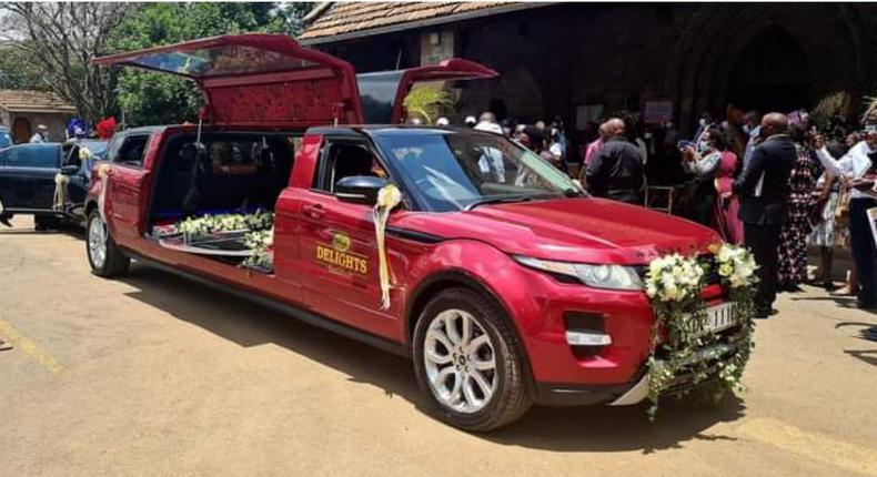 Orie Rogo Manduli's body ferried in Sh20 million Range Rover limo
