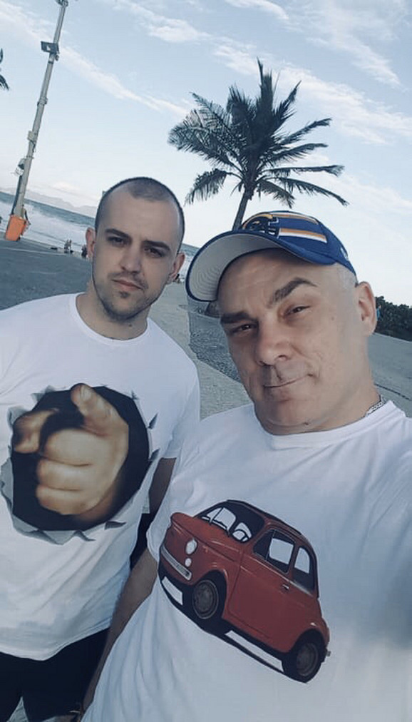 Branko Kujundžić i Zoran Ristanović u Brazilu