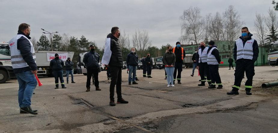 Dziesiąty dzień strajku w spółce Betrans