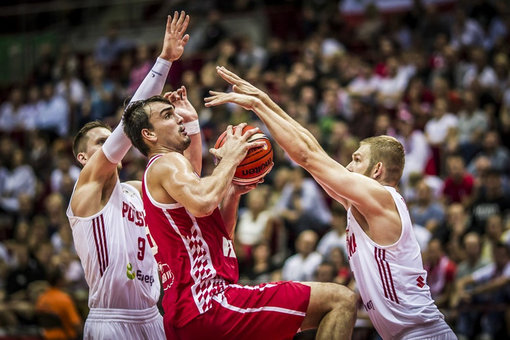 Košarkaška reprezentacija Poljske, Košarkaška reprezentacija Hrvatske