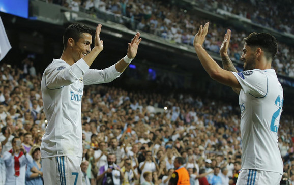 Kristijano Ronaldo i Isko