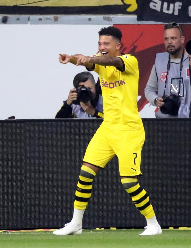 Strelac pobedonosnog gola za Dortmund i najbolji asistent Evrope Džadon Sančo