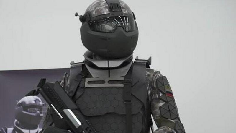 Rosjanie pokazali projekt żołnierza przyszłości