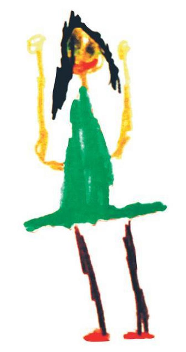 Rysunek wykonał Szymon Myśliwski (6 lat)