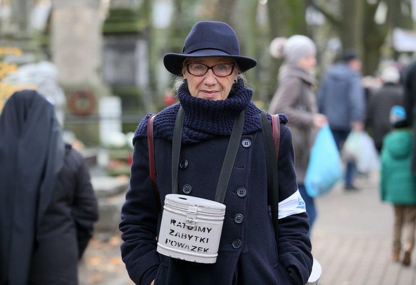 Kwesta na warszawskich Powązkach