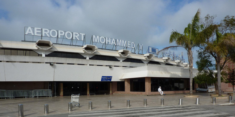 Mohammed V International Airport. (istimetours)