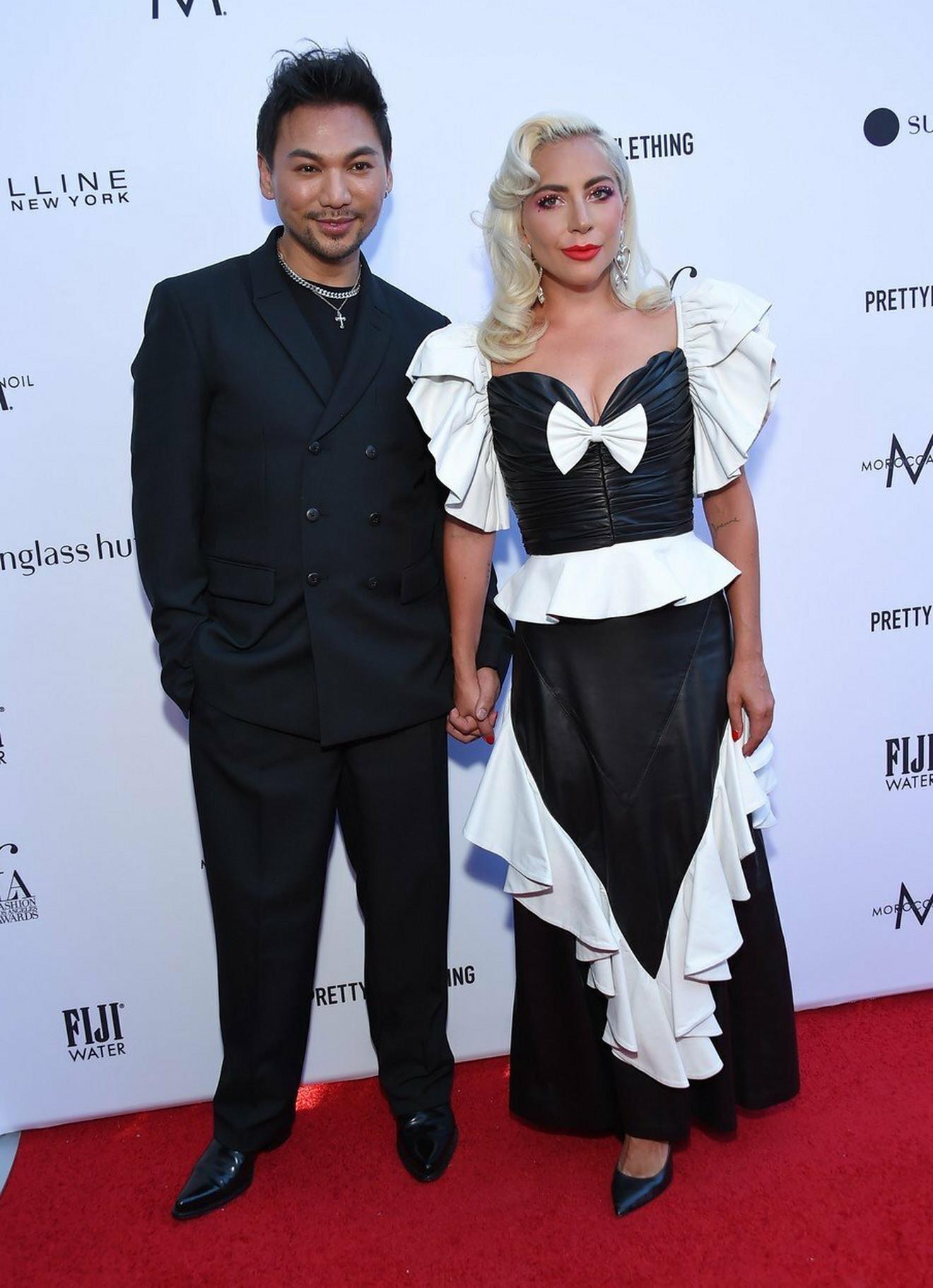Ledi Gaga i njen frizer Frederik Aspiras