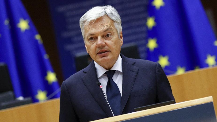 Didier Reynders, unijny komisarz ds. sprawiedliwości