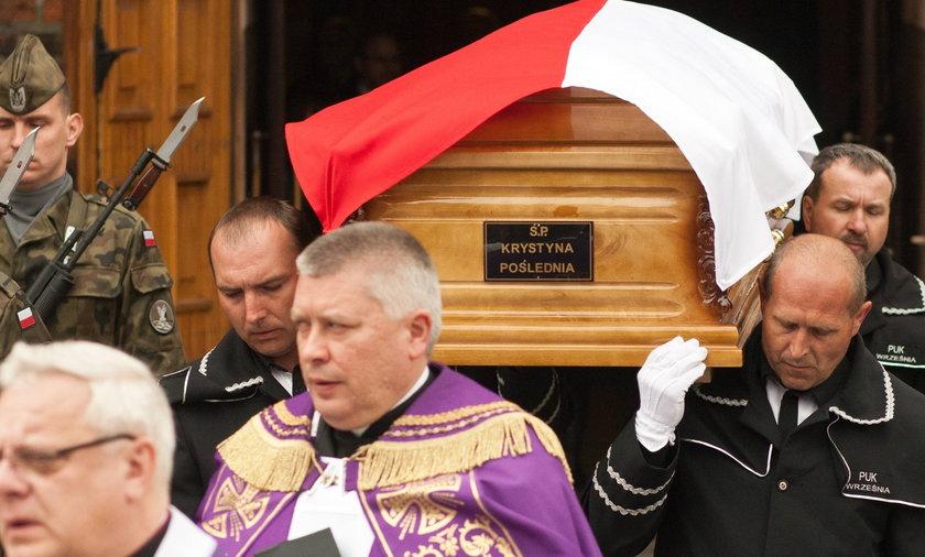 Pogrzeb posłanki PO Krystyny Pośledniej