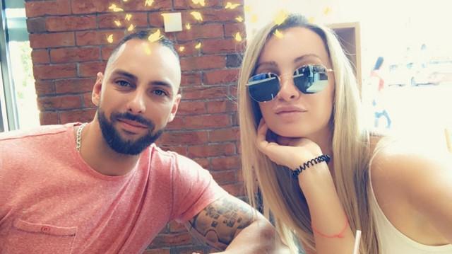 Jovica Putniković sa sestrom Nevenom