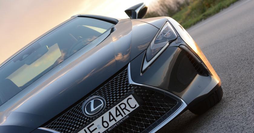 Nowy Lexus LC500 jak ostatni samuraj