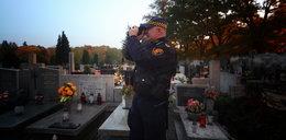 Strażnicy tropią cmentarnych złodziei
