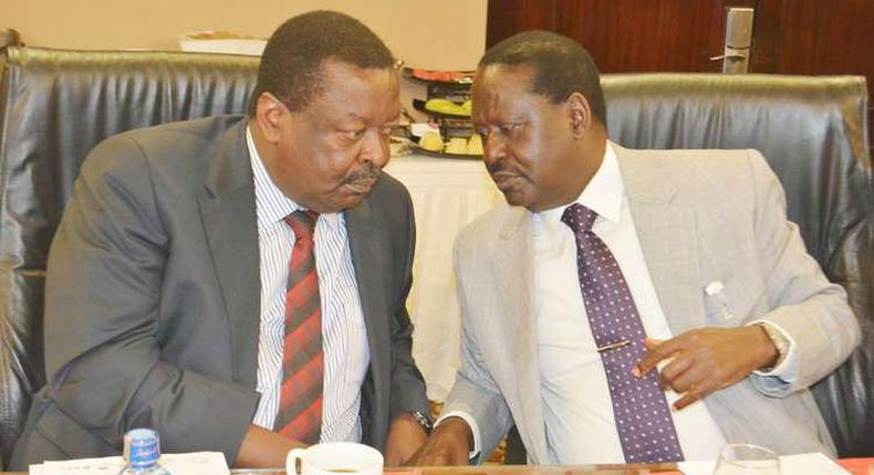 Musalia Mudavadi's new book, Soaring Above the Storms of Passion, exposes games Raila Odinga played during swearing in