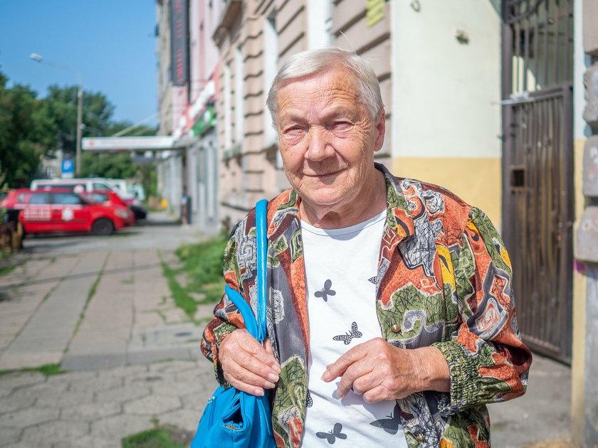 Halina Tomczyk z Łodzi