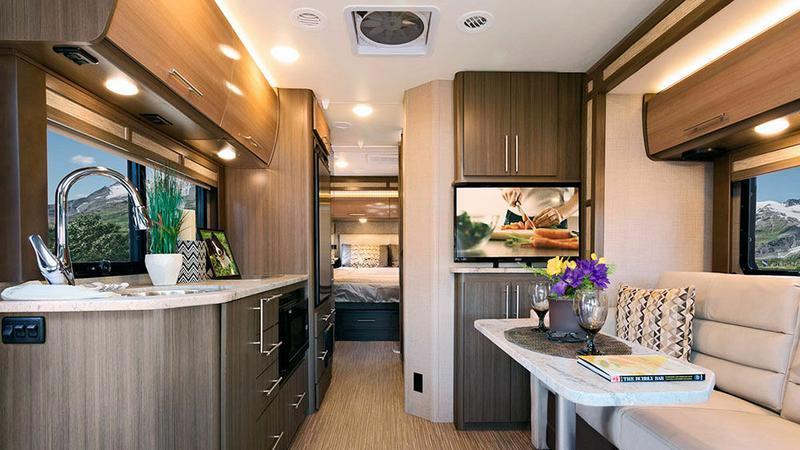 To nie jest luksusowe mieszkanie, ale najnowszy kamper