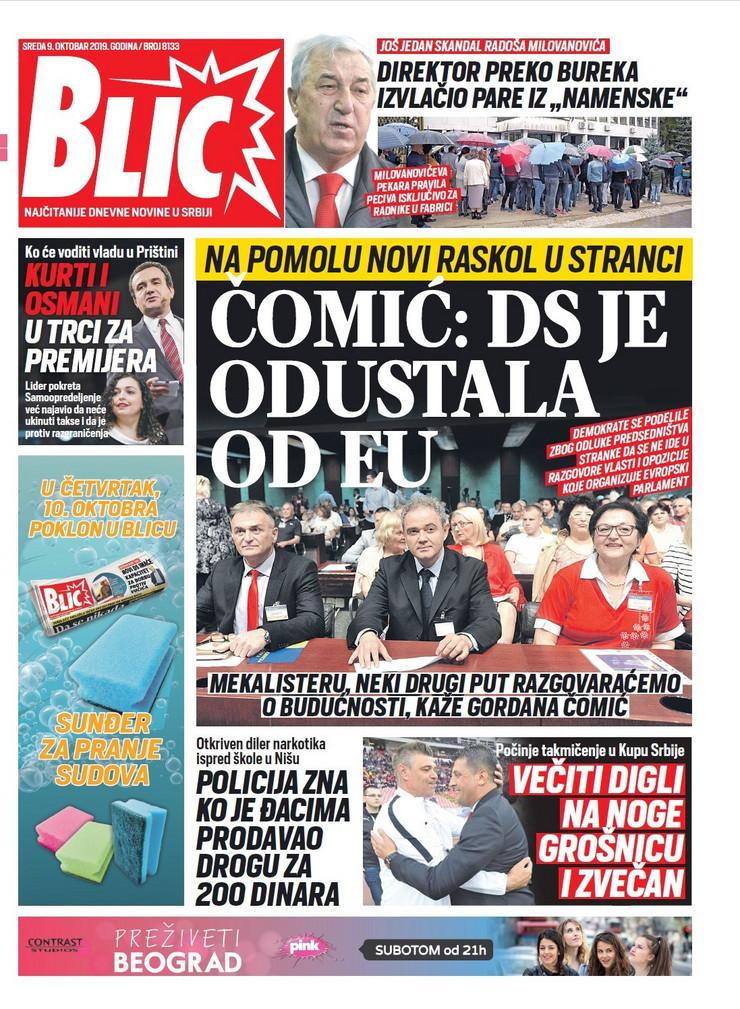 Naslovna strana za 09.10.
