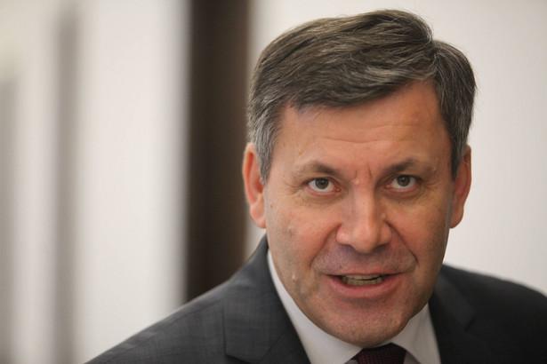 Szef PSL Janusz Piechociński.