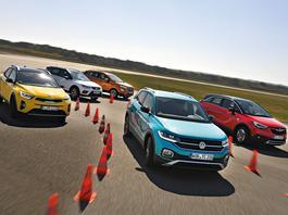 Volkswagen T-Cross kontra Kia Stonic, Ford Ecosport, Seat Arona i Opel Crossland X - szukamy najlepszego crossovera