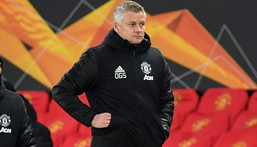 Ole Gunnar Solskjaer's Manchester United side are in a spell of four games in eight days Creator: Paul ELLIS