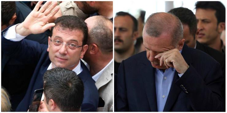 Ekrem Imamoglu i Redžep Tajip Erdogan