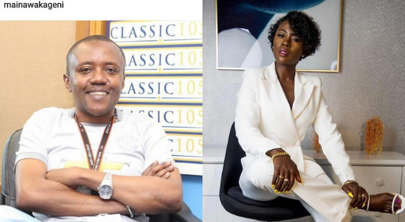 Akothee's special message to Maina Kageni