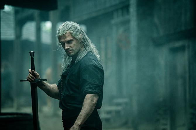 Henri Kavil u seriji The Witcher