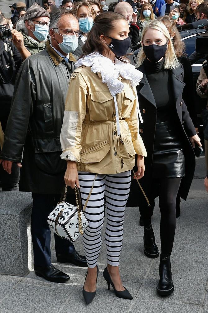 Alisija Vikander juče u Parizu