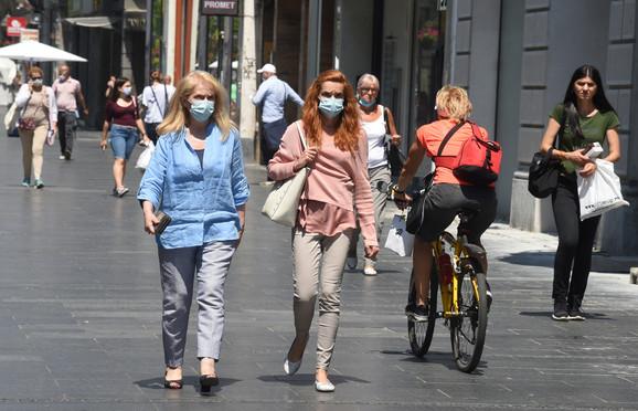 Od sutra će maske biti obavezne u celoj Srbiji