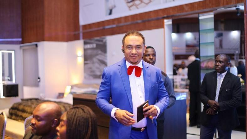 Freeze at the tallest residential building event in Lagos
