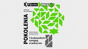 """""""7@nite"""": z soboty na niedzielę zwiedzanie krakowskich synagog nocą"""